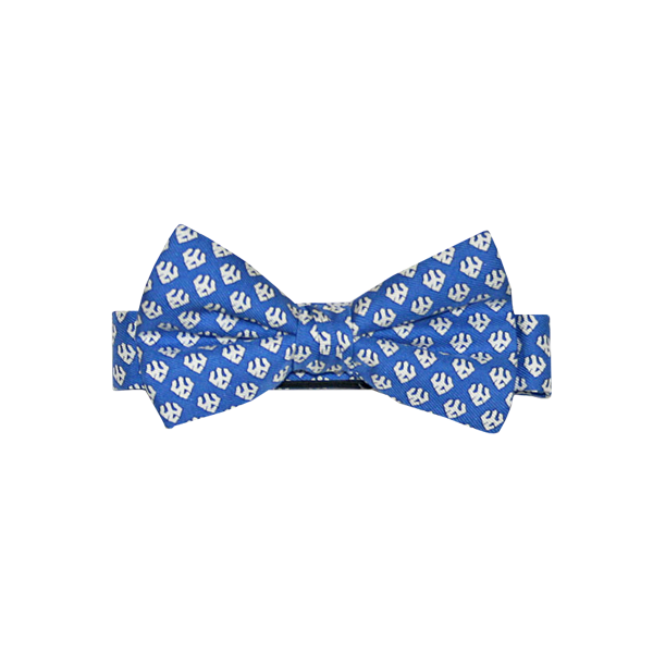 Image For Vineyard Vines Boy's Trident Bow Tie, Royal