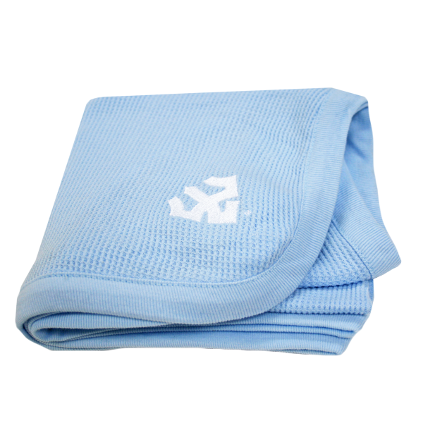 Image For Thermal Receiving Blanket with Trident, Blue
