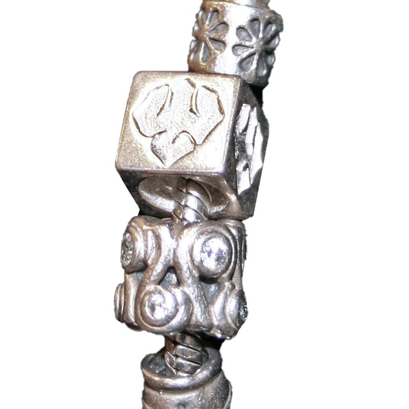 Image For Kitty Keller Sterling Silver Trident Bracelet Charm