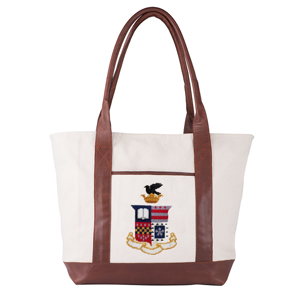 Cover Image For Smathers & Branson Crest Tote