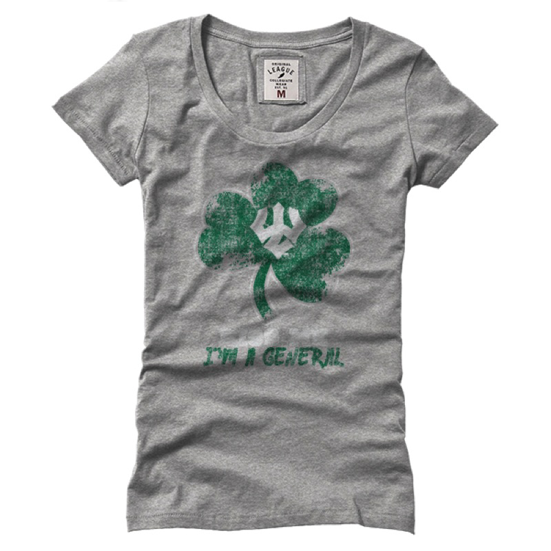 Cover Image For Superfly Shamrock Scoop Neck Tee