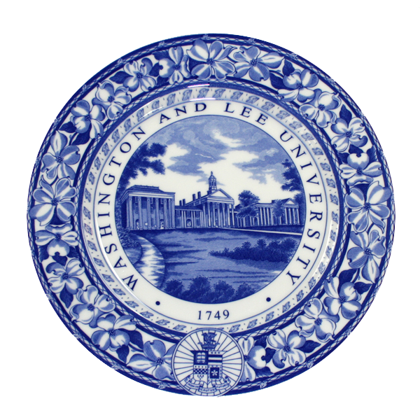 Image For Old English Staffordshire Ware Colonnade Plate