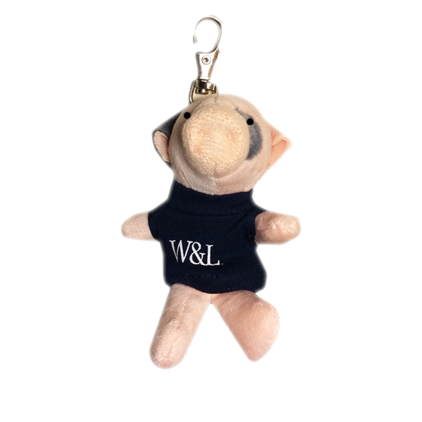 Image For Pig Plush Keychain