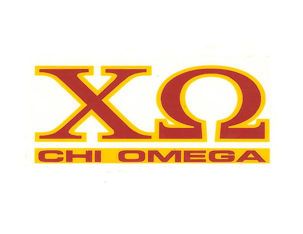 Image For Chi Omega Decal