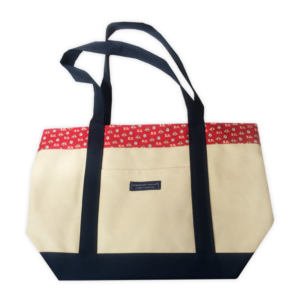 Image For Vineyard Vines Chi Omega Tote