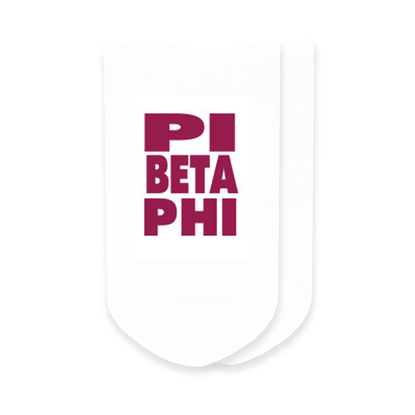 Image For Pi Beta Phi Socks