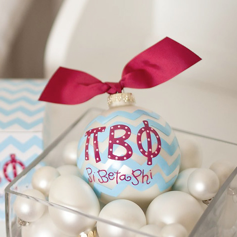 Image For Pi Beta Phi Ball Ornament