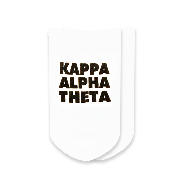 Cover Image For Kappa Alpha Theta Socks