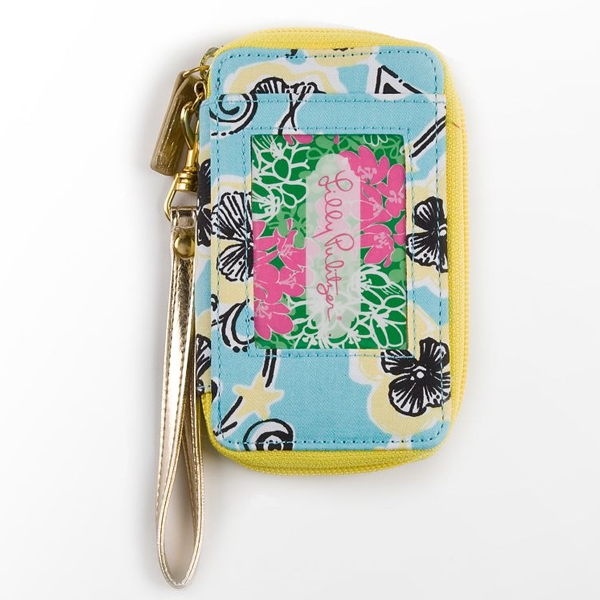 Image For Lilly Pulitzer Kappa Alpha Theta Wristlet