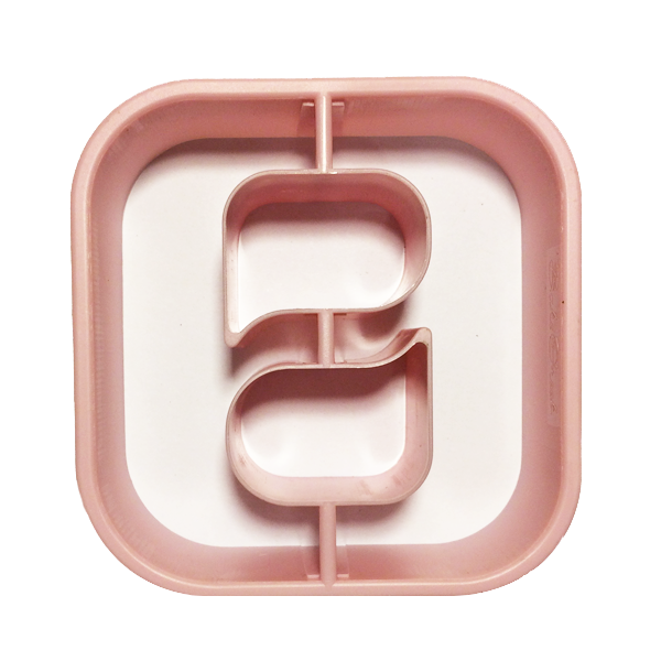 Image For Theta Letter Cookie Cutter