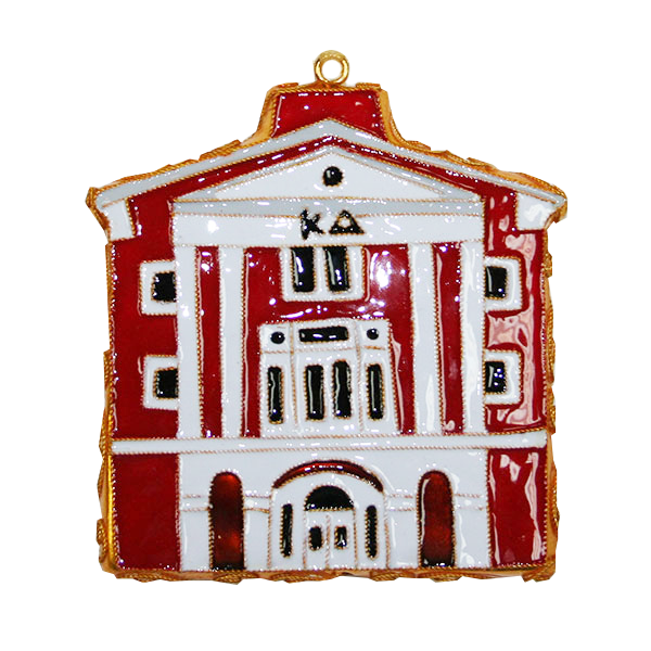 Image For Kitty Keller Kappa Delta House Ornament