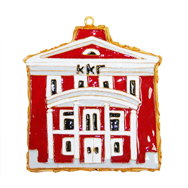 Image For Kitty Keller Kappa Kappa Gamma House Ornament