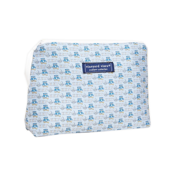 Image For Vineyard Vines Kappa Kappa Gamma Makeup Bag