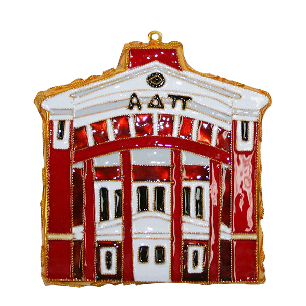 Image For Kitty Keller Alpha Delta Pi House Ornament