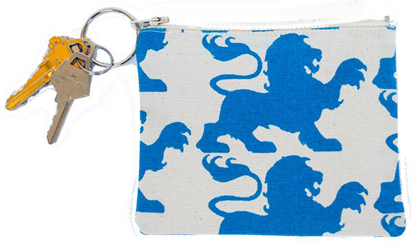 Image For Alpha Delta Pi Coin Purse Key Chain