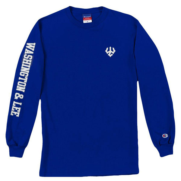 Image For Champion Long Sleeve Tee, Royal
