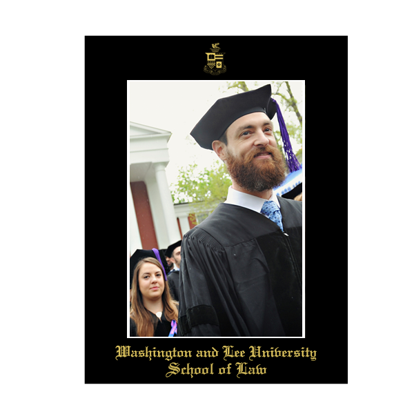 Cover Image For Law Graduation Photo Mat 8x10