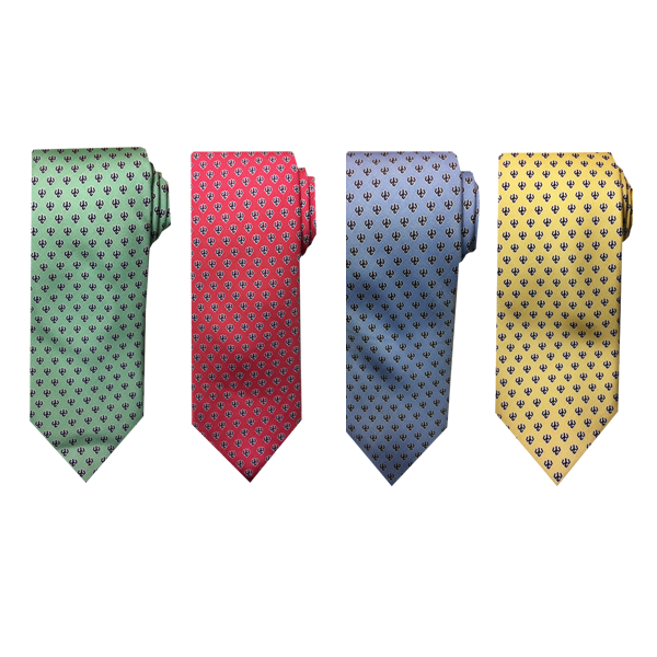 Image For Vineyard Vines Navy Tridents Tie, Assorted Colors