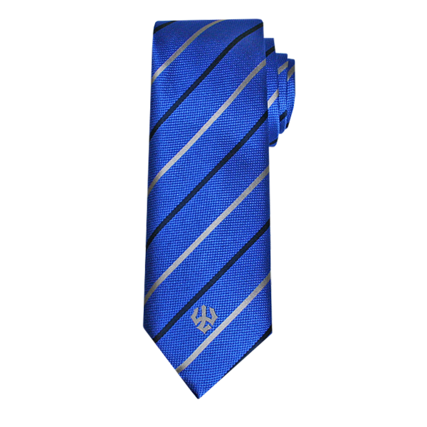 Cover Image For Diagonal Stripe Tie with Trident