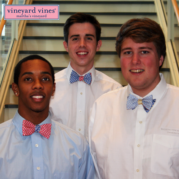 Image For Vineyard Vines Patchwork Bow Tie
