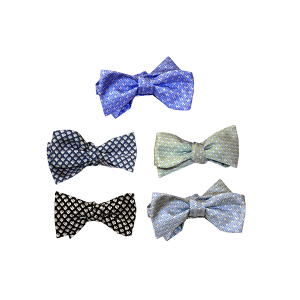 Image For Vineyard Vines Trident Bow Tie, Assorted Colors