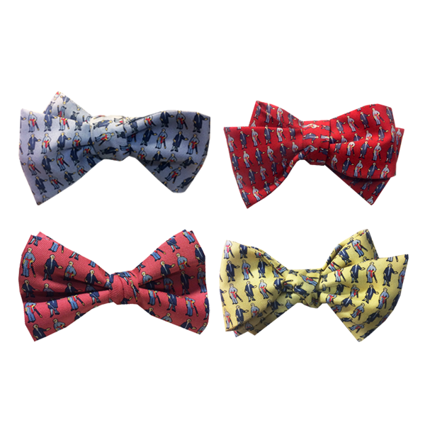Image For Vineyard Vines George & Bob Bow Tie, Assorted Colors