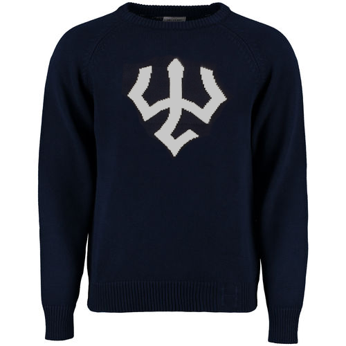 Image For Vintage Trident Sweater, Navy