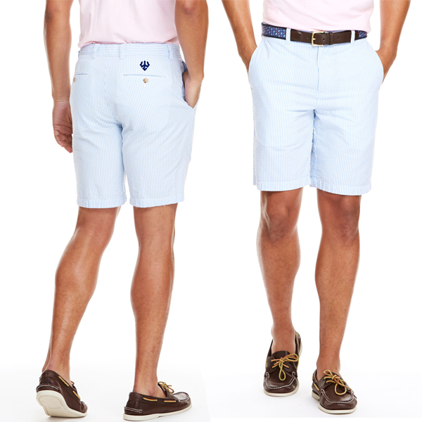 Cover Image For Vineyard Vines Seersucker Shorts