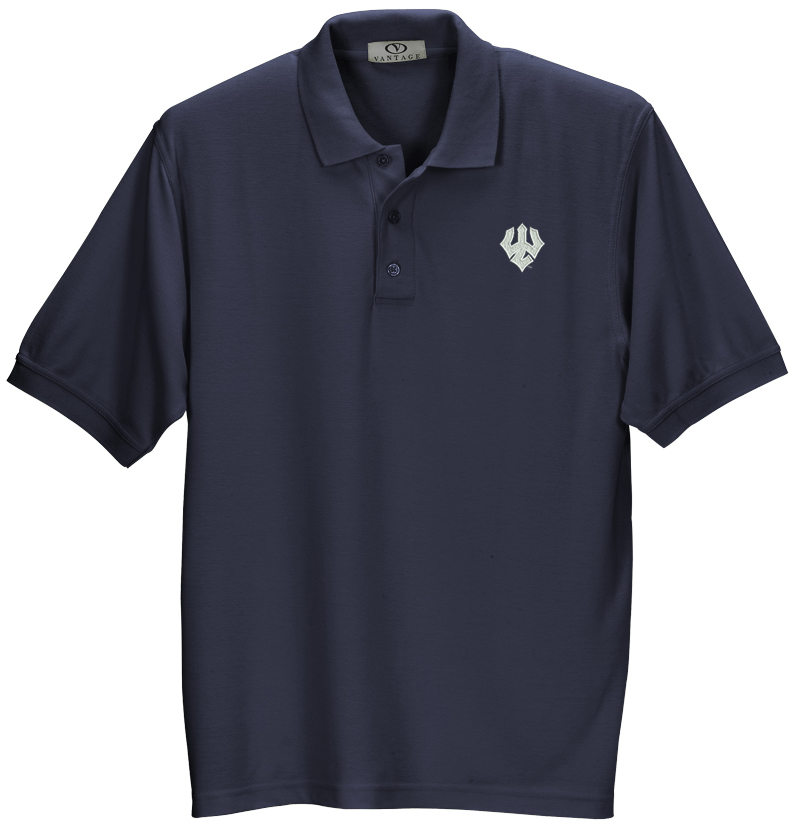 Cover Image For Double Tuck Polo, Navy