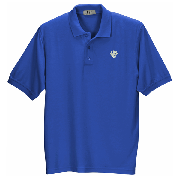 Image For Double Tuck Polo, Royal