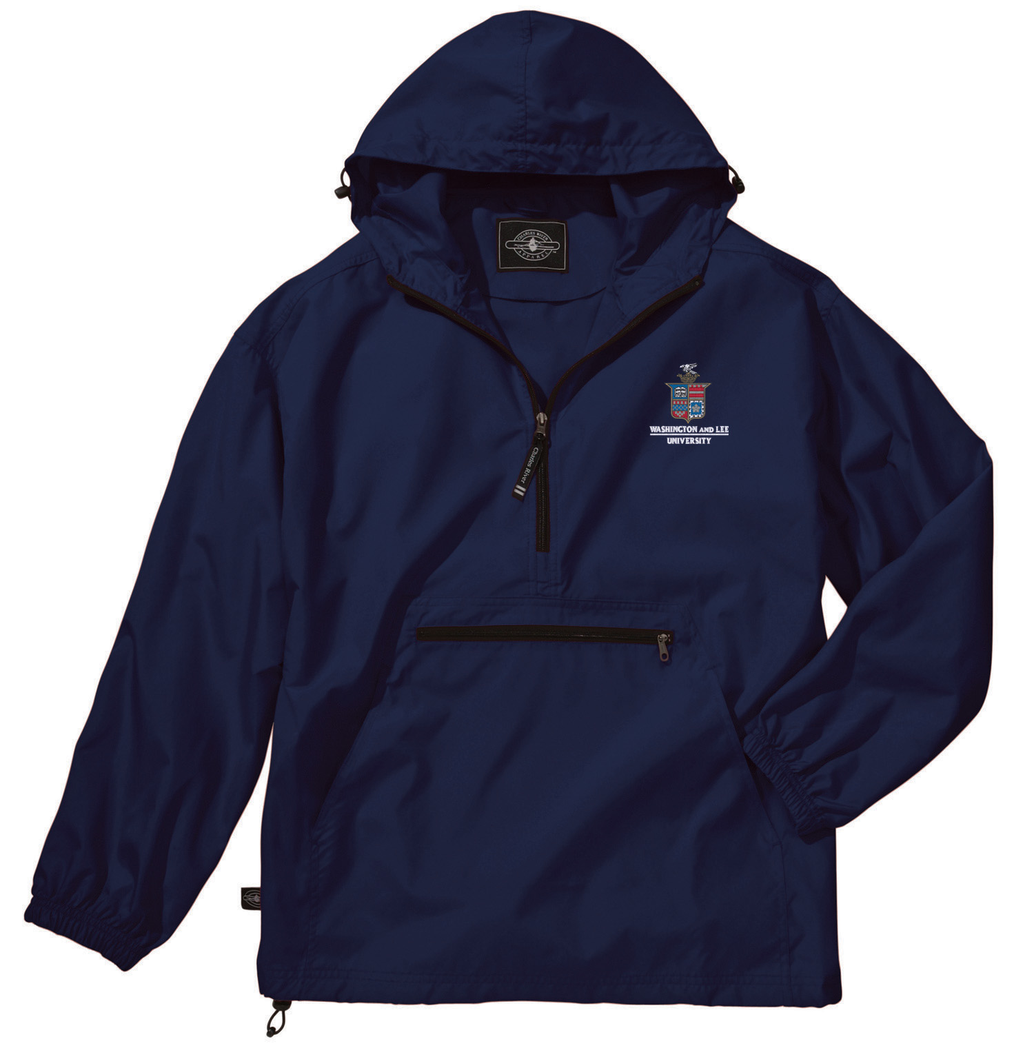 Image For Charles River Pack-N-Go Jacket, Navy