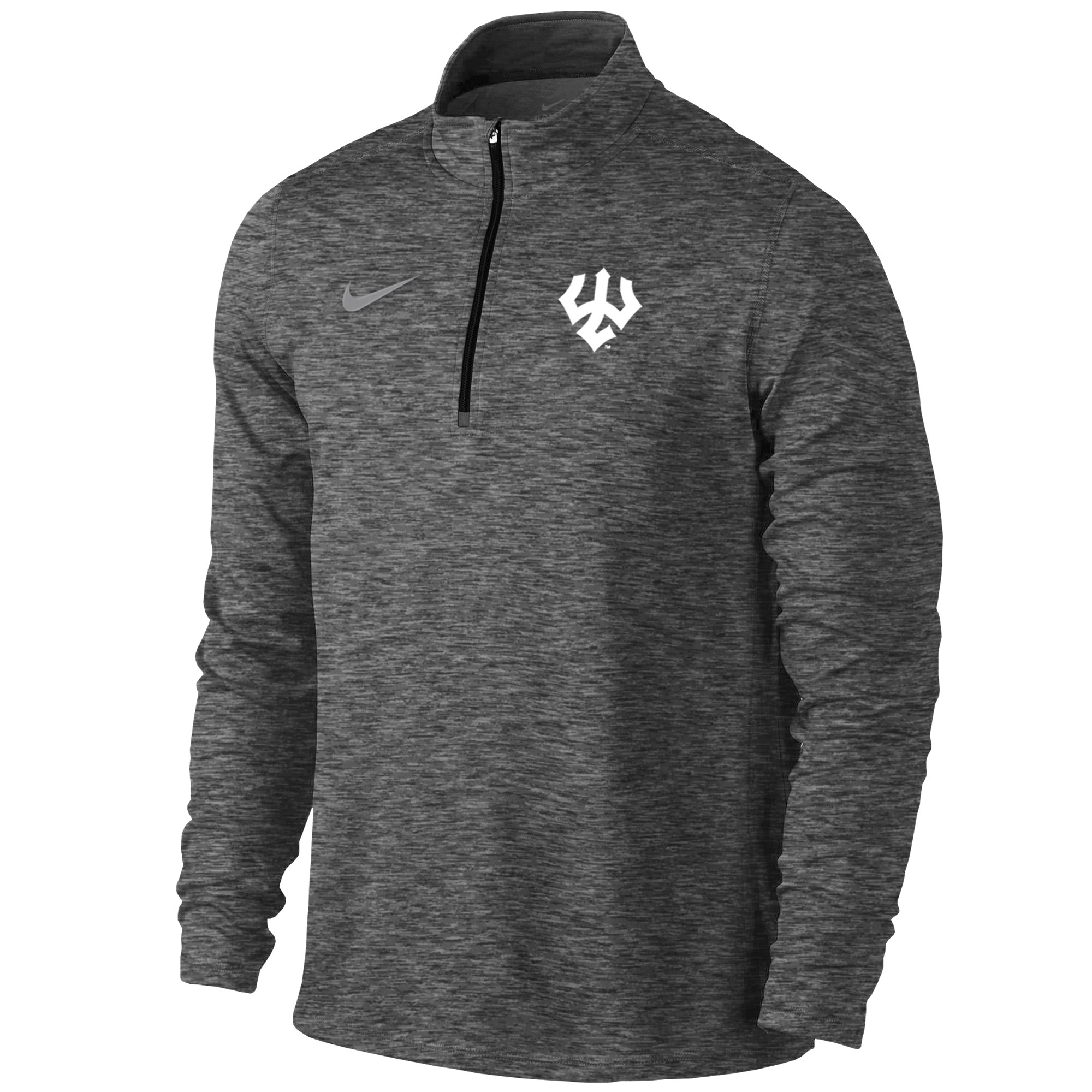 Image For Nike Men's Element Quarter-Zip, Anthracite