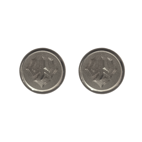 Image For Jack Christopher Trident Cufflinks, Silver