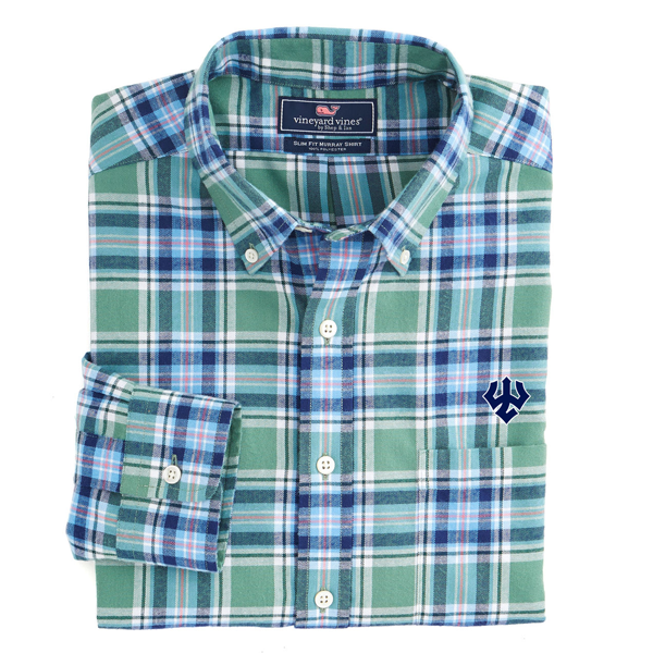 Image For Vineyard Vines Hammersmith Plaid Shirt