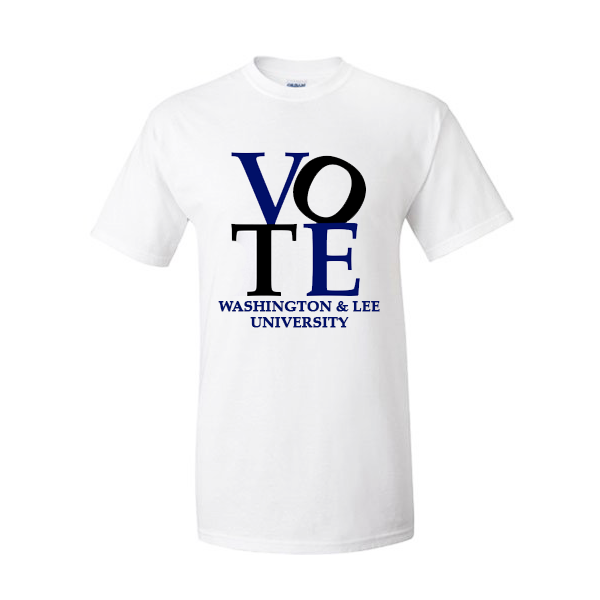 Image For Short Sleeve Vote Tee, White