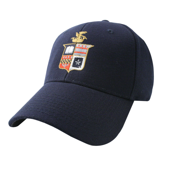 Cover Image For Full Color Crest Hat, Navy