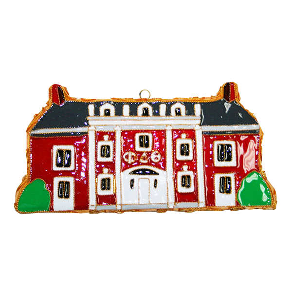 Image For Kitty Keller Phi Delta Theta House Ornament