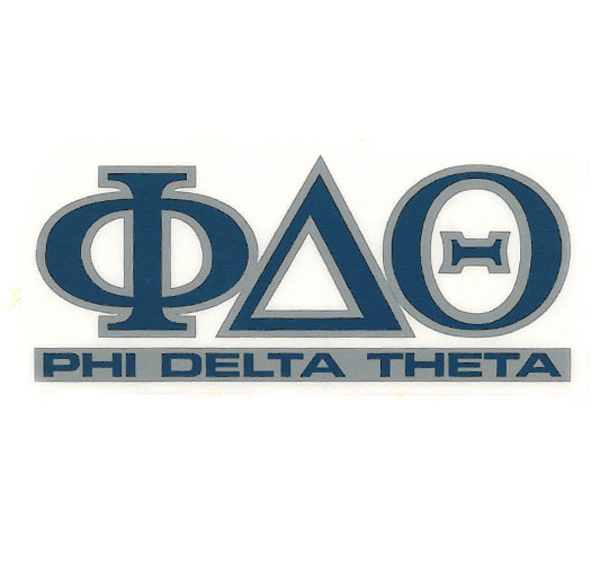 Cover Image For Phi Delta Theta Decal