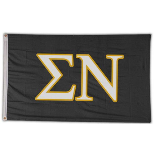 Image For Sigma Nu Letter Flag
