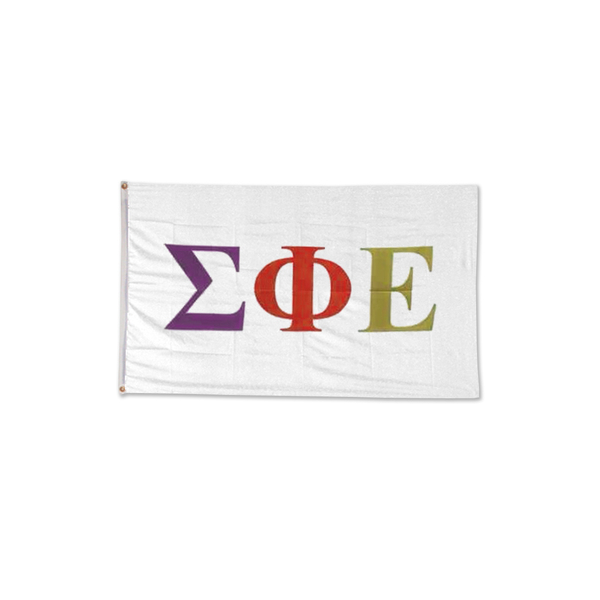 Image For Sigma Phi Epsilon Letter Flag