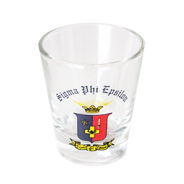 Image For Sigma Phi Epsilon Shot Glass