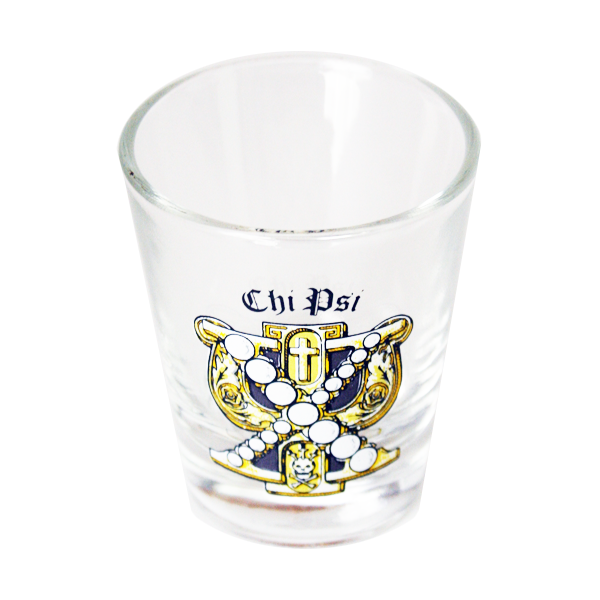 Image For Chi Psi Shot Glass