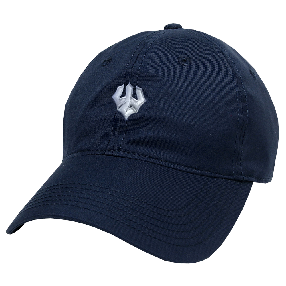 Image For Legacy Trident Fitted Hat, Royal or Navy