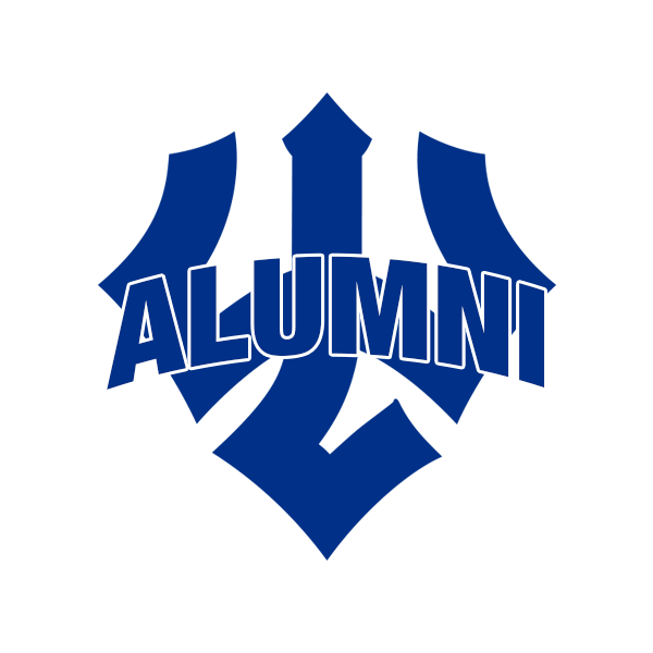 Cover Image For Alumni Trident Decal