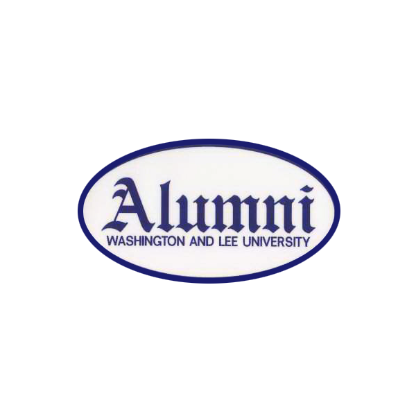 Image For Oval Alumni Decal