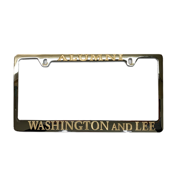 Cover Image For Alumni License Plate Frame