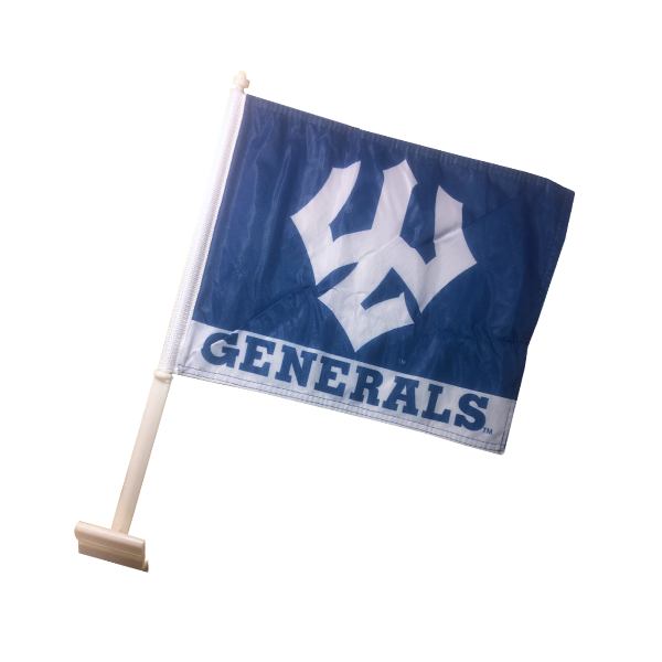 Cover Image For Generals Car Flag with Trident