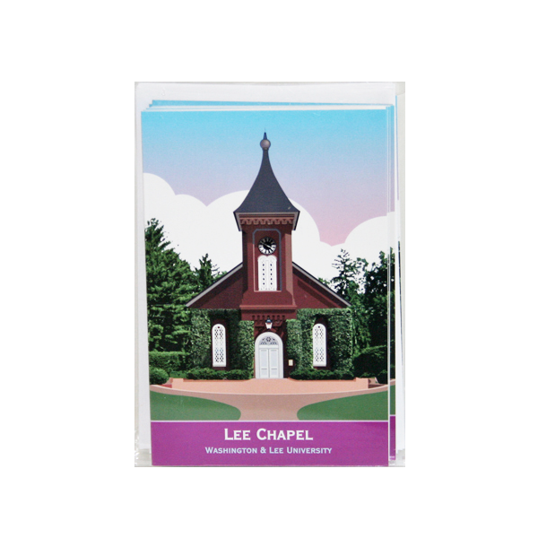Image For Contemporary Graphic Lee Chapel Note Cards