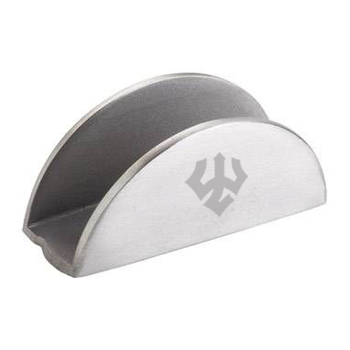Image For Salisbury Pewter Business Card Holder, Trident