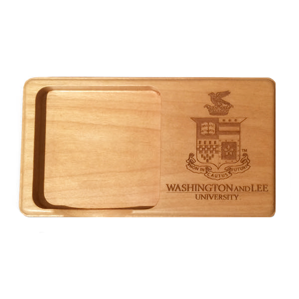 Image For Wooden Memo Pad Holder with Crest